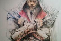 My drawing / Pencil drawings