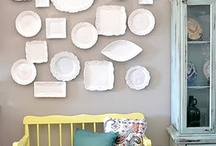 Plates on the wall...