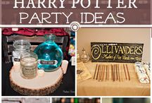 Harry Potter Party!!!