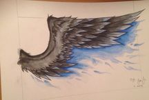 Crow wing / Tattoo ideas