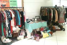 Clothing market stall
