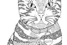 Mándala gatos
