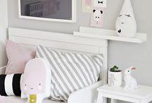 Pink and Grey Nursery / Simple pink and grey room ideas to inspire you