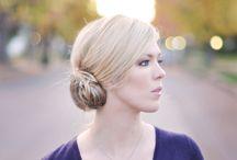 Bridesmaid/Wedding Hairstyles / by Kate Clancy