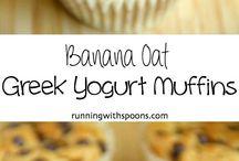 Inspiration  Muffins/breakfast breads