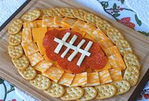 Superbowl game foods