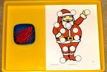 montessori Activities for Christmas