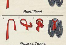 Huivin tai solmion sitominen