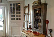 French Farmhouse Style / French country decorating, farmhouse style