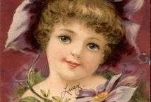 Vintage Easter postcards/photos / by Jennifer Lowe
