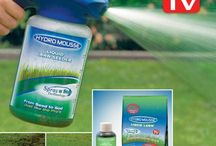 Hydro Mousse Spray on Grass Seed and Lawn Care / What are the best products to use on your lawn. Do you use spray on grass seed like hydro mousse?
