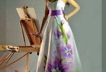 Vestido pintado