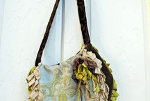 tote bags for the bus walk / by Margaret Cooper