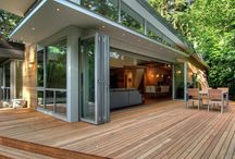 Glass Door for Deck