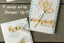Stampin' Up! - Sunshine Sayings / Projects using the Stampin' Up! Stamp set Sunshine Sayings and Sunshine Wishes Thinlits