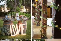Wedding Rustic Decoration