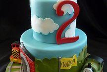 thomas birthday party / William's 2nd birthday!