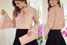 Pink Lace Blouse 1