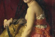Judith c1875 by Gabriel Ferrier (1847-1914)