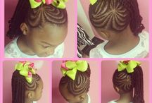 Coiffure Africaine Filles