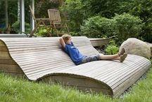 Pihakalusteet / Outdoor furniture / Kalusteita terassille ja puutarhaan, pihaideoita,  / Outdoor furniture