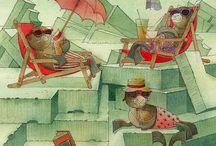 """Кястутис Каспаравичюс (Kestutis Kasparavicius) / Кястутис Каспаравичюс (Kestutis Kasparavicius)  - писатель и иллюстратор, которого называют """"настоящей гордостью современной детской литературы Литвы"""". Он автор более 50 книг для детей, которые переведены на различные языки. Сайт http://goo.gl/gzmfuh Страница в Facebook http://goo.gl/HJZ7XT Страница в Fine Art America http://goo.gl/uAaLzI"""