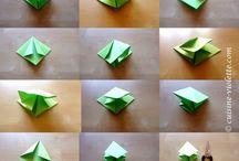 Falttanne Origami