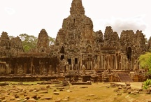 Siem Riep, CAMBODIA / Bayon Temple, Angkor Wat, Angkor Thom, Lady Temple , Ta Prohm, Floating Village