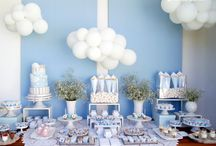 clouds theme party