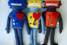 Robots! / robot toys, robot trinkets, robot products / by Rachel Linquist