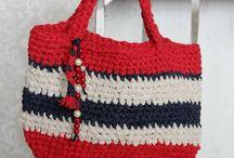 M Crochet bag / My crochet bags-100%handmade