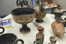 Nuova expo ARTIEGHI / Mostra di ceramiche storiche realizzate nel mio laboratorio