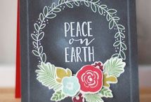 Cards Chalkboard / by Emily Hyvl
