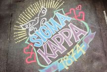 One Heart One Way / Sigma kappa, WKU, western Kentucky university  / by Danielle Adams