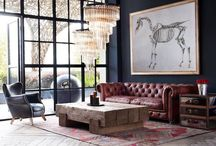 office style ideas > / classic, traditional, industrial, steampunk, english, chesterfield, library, banker, mixing, mix and match, mancave