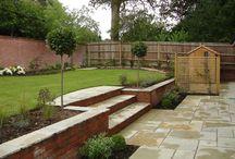 Garden levelling