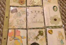 More pocket Letters / Alice in Wonderland Theme Pocket letter