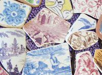 sea pottery and sea glass