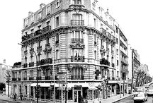 Paris coloring pages / Many drawing of Paris to visit the city with the coloring pages.  See more --> http://www.coloring-pages-adults.com/coloring-paris/