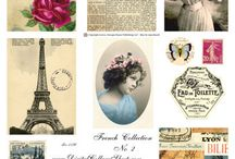 Collage Sheets / printables collage sheets