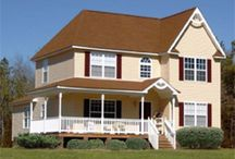 Two Story Home Exteriors / Madison Homebuilders, the number one custom home builder in North and South Carolina, has a variety of two story homes to choose from. Browse this board featuring two story home exteriors. Choose your favorite and customize it to suit your needs.