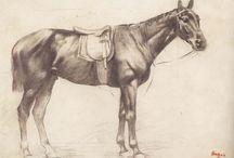 Caballos Edgar Degas