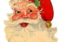 Christmas - SANTAS / by Becky Arcizo