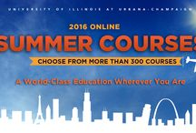 Online Summer Courses 2016 / Wherever you go this summer, you can take online courses at Illinois. Choose from more than 300 courses!