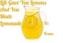 Making Lemonade Out of Lemons!