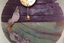 Handmade wallclock / Handmade wall cklock