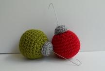 christmas crochet  / Christmas ornaments 2013!