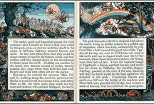 Nordic Mitology - Viking Gods / by Erly Miranda