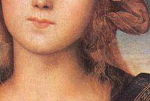 Perugino / Storia dell'Arte Pittura  15°-16° sec. Perugino (Pietro di Cristoforo Vannucci) 1446-1523