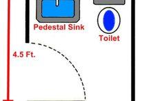 Cottage Reno - Bathroom / Bathroom Ideas for our cottage reno